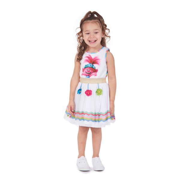 DreamWorks X Pippa & Julie Trolls Flower Dress
