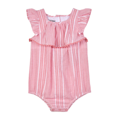 Sandra Stripe Bubble Romper