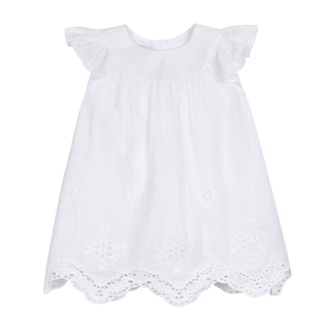 Everly White Dress