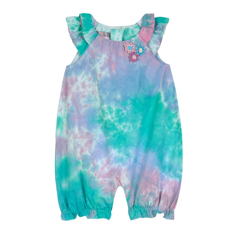 Blair Tie Dye Bubble Romper