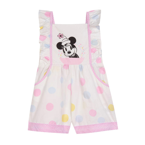 Disney X Pippa & Julie Minnie Polka Dot Romper