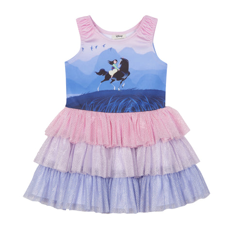 Disney X Pippa & Julie Mulan Tiered Dress