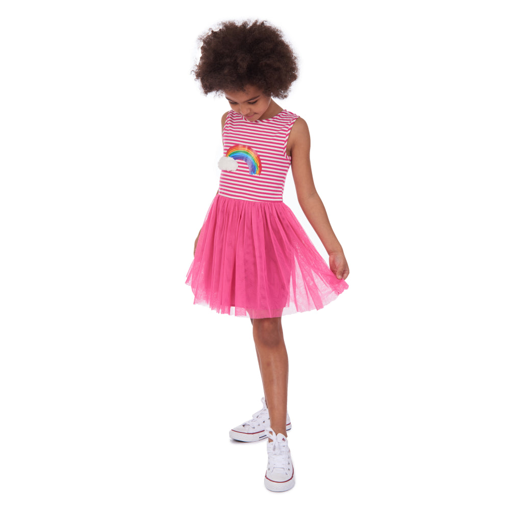 Tammy Rainbow Tutu Dress