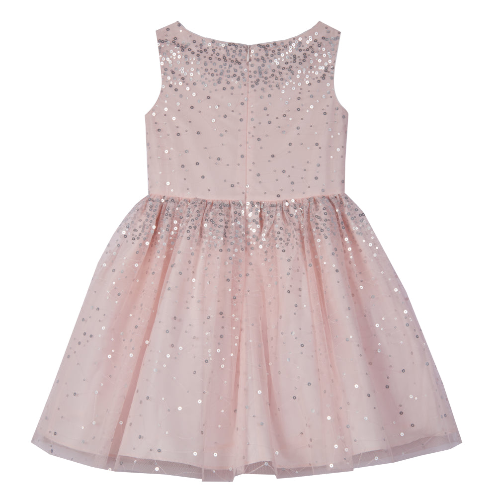 Sandrine Pink Sequin Dress