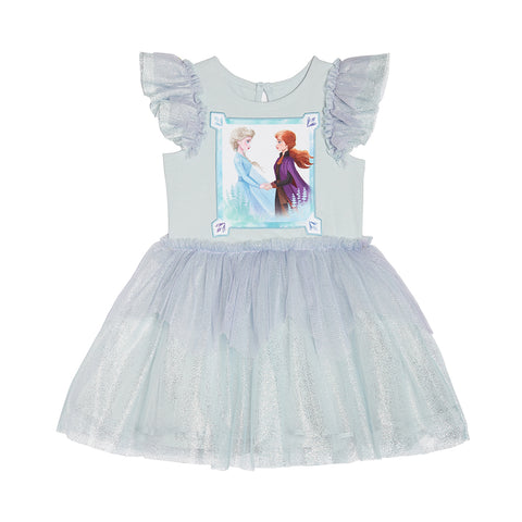 Disney X Pippa & Julie Frozen 2 Elsa and Anna Sparkle Dress