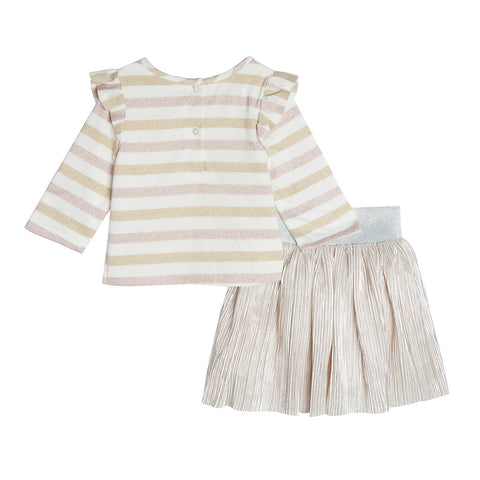 Rylee Pleated Skirt Set