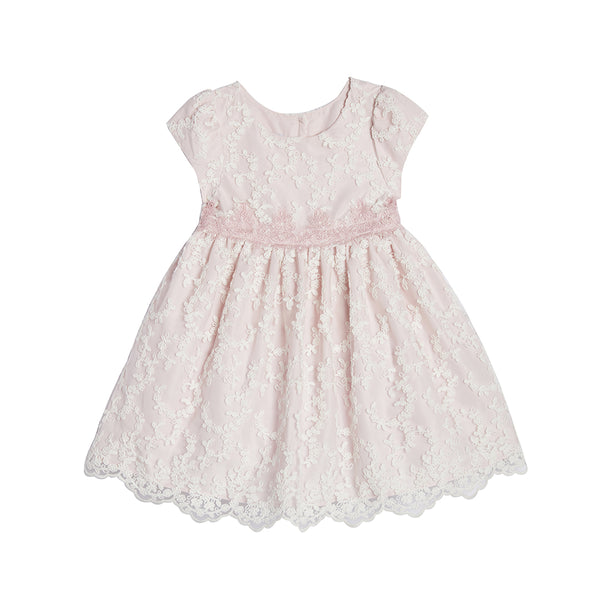 Dolly Blush Lace Dress