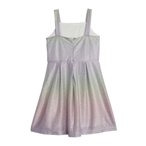 Callie Metallic Pastel Dress
