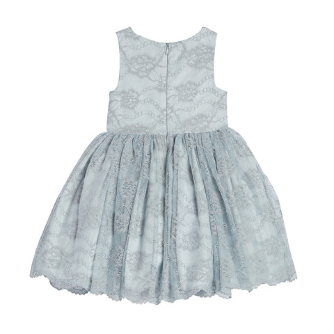 Sandrine Blue Lace Dress