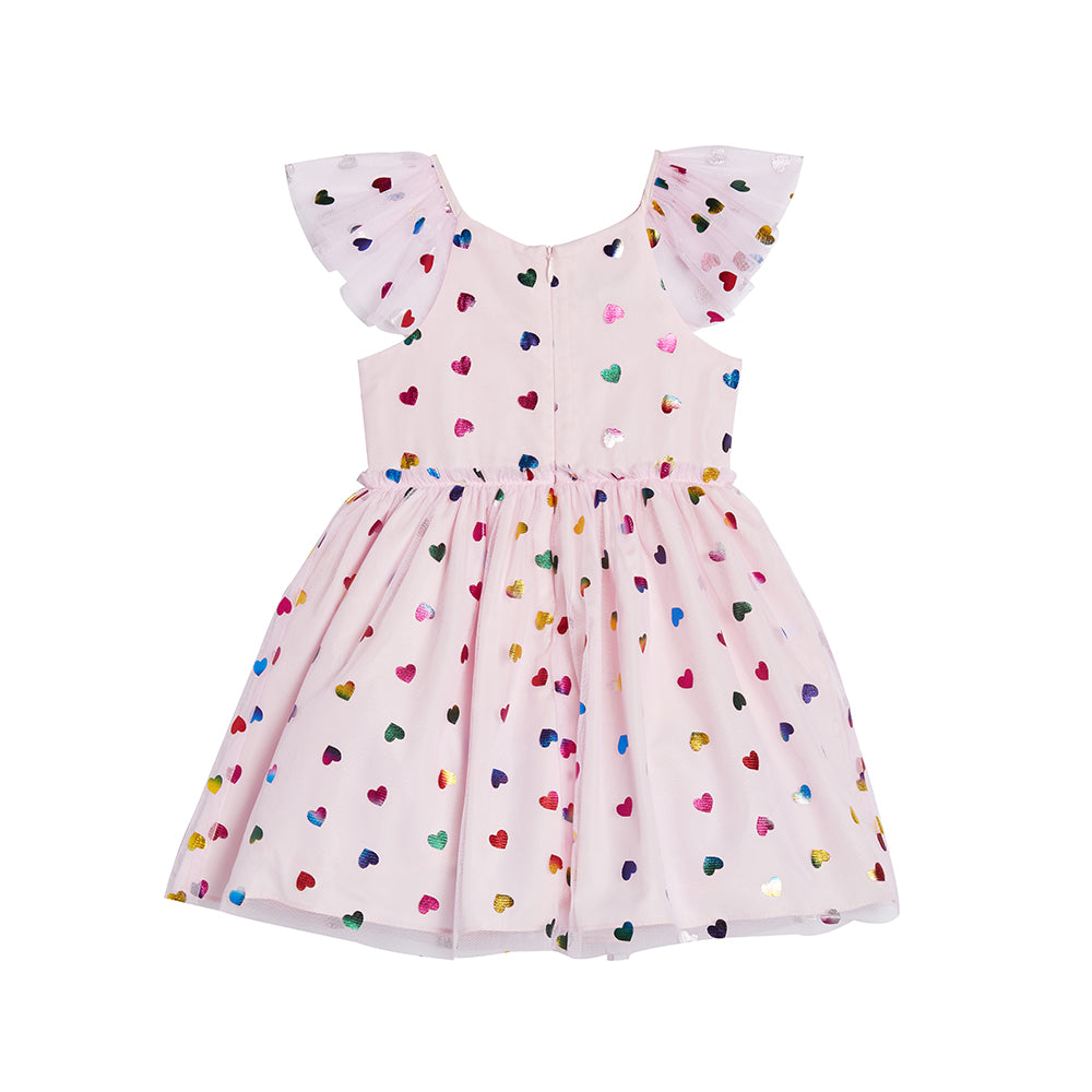Fern Pink Heart Dress
