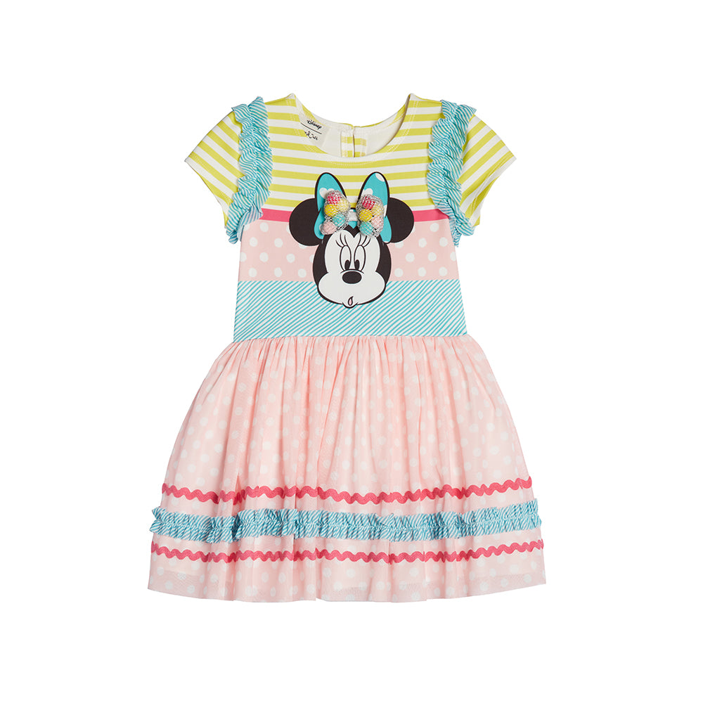 Disney X Pippa & Julie Minnie Dot & Stripe Dress