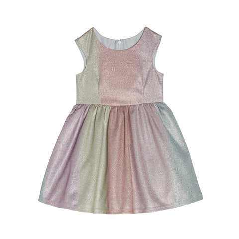 Grace Metallic Rainbow Dress