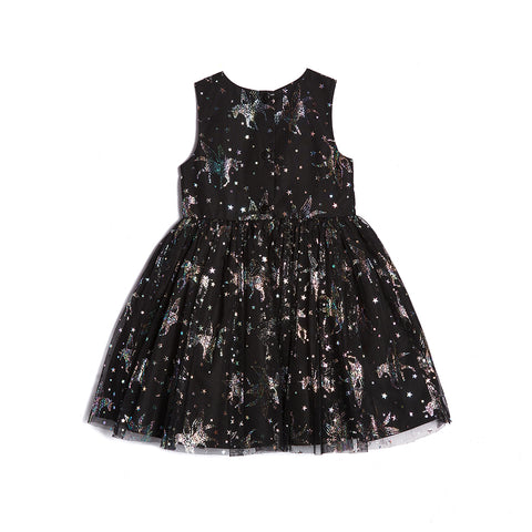 Lainey Foil Pegasus Dress