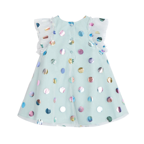 Ivy Blue Dot Float Dress