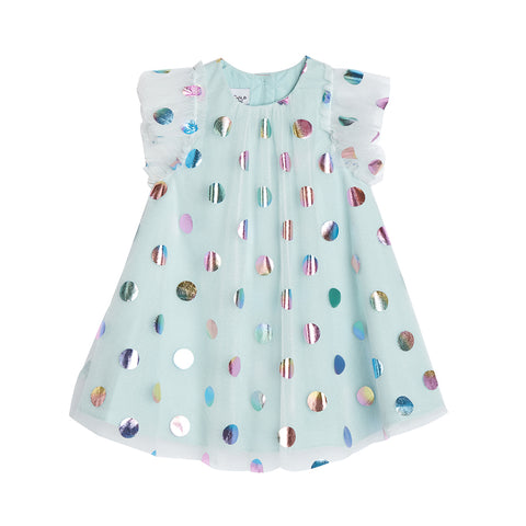 Ivy Blue Dot Float Dress (Pre-Order)