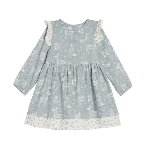 Stella Blue Print Dress