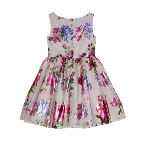 Lainey Foil Floral Dress