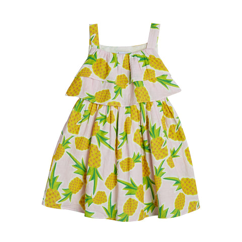 Makayla Pineapple Print Sundress