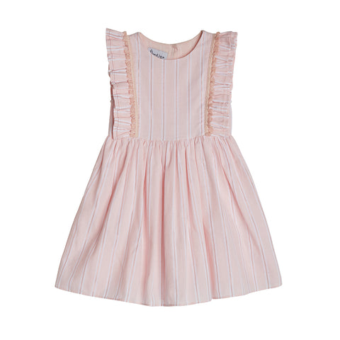 Tess Pink Stripe Dress