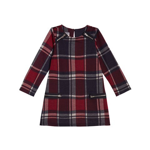 Riley Plaid Dress