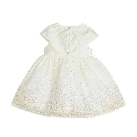 Soledad Ivory Dress & Headband Set