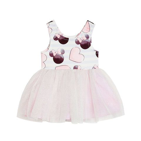 Disney X Pippa & Julie Minnie Heart Tutu Dress