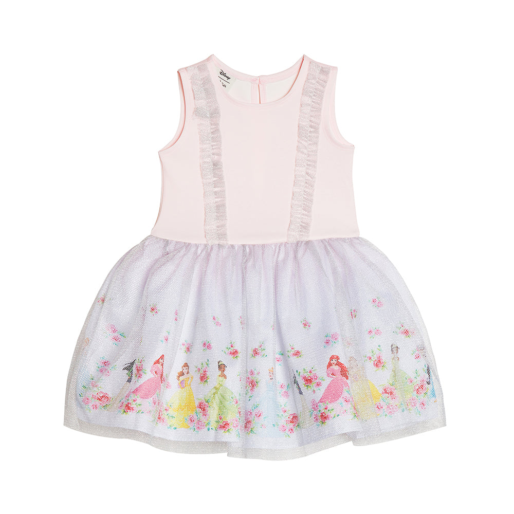 Disney X Pippa & Julie Princess Floral Ruffle Dress