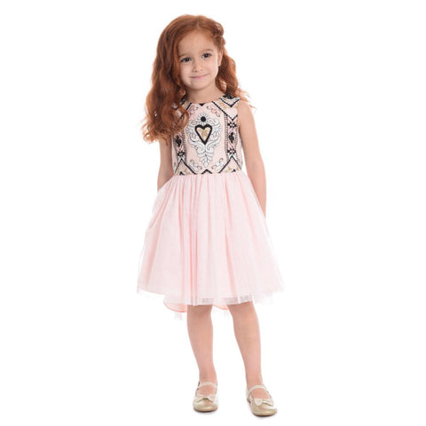 Tabitha Embroidered Dress