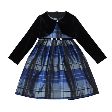 Abby Plaid Jacket Dress