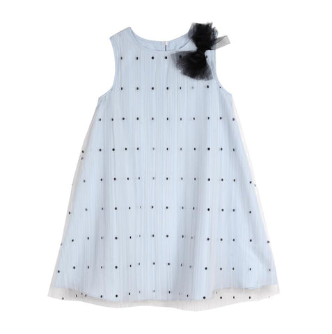 Adeline Polka Dot Shift Dress