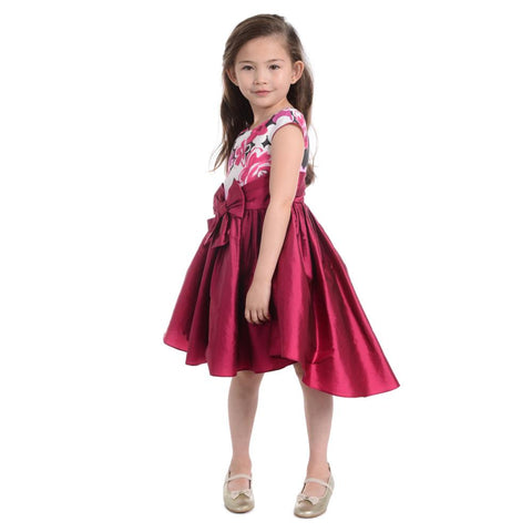 Alicia Crimson Dress