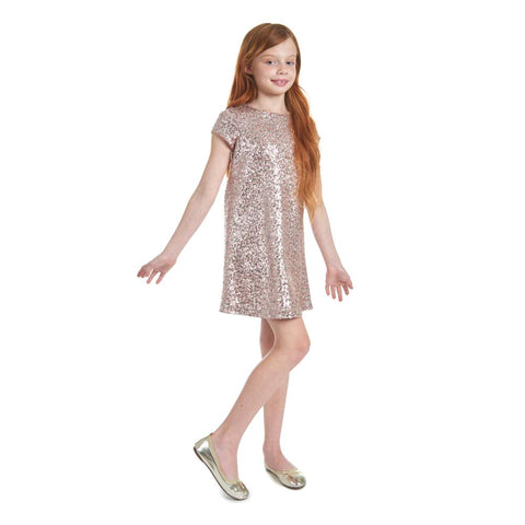 Betty Sequin Shift Dress