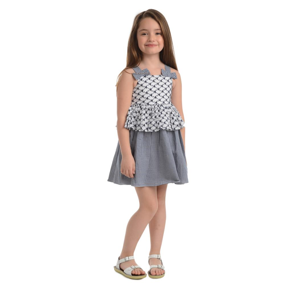 Dress - Chantal Navy Dress