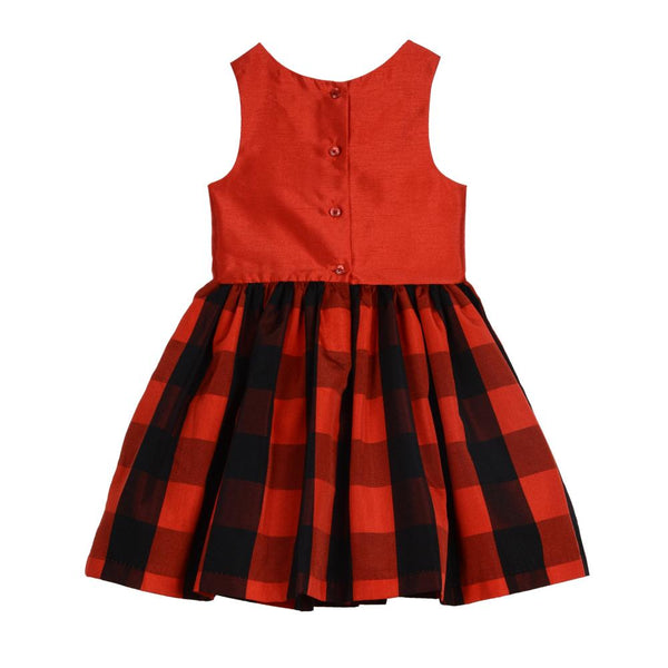 Dress - Daniella Red Plaid Dress