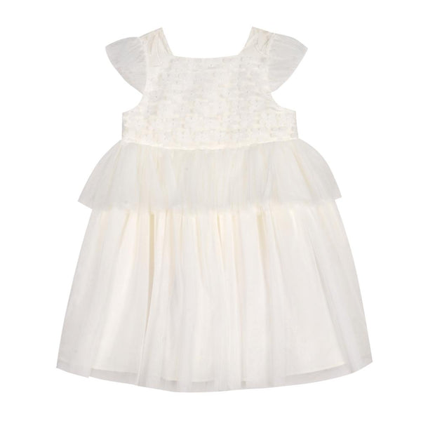 Dress - Delilah White Peplum Dress