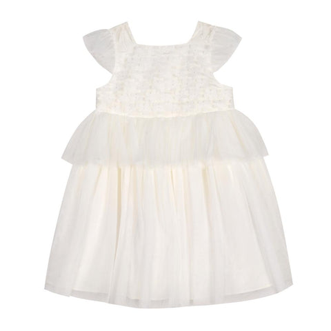 Delilah White Peplum Dress