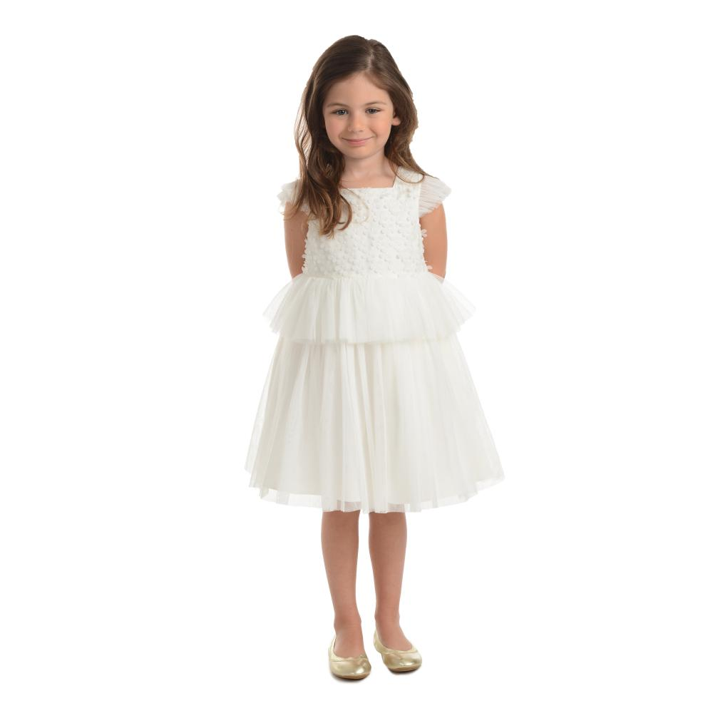 f30193cbee552 Pippa & Julie Delilah White Peplum Dress