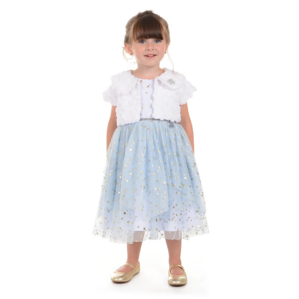 0a6a3acff Disney X Pippa & Julie Elsa Shrug Dress