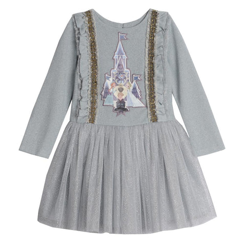 Disney X Pippa & Julie Frozen Castle Tutu Dress