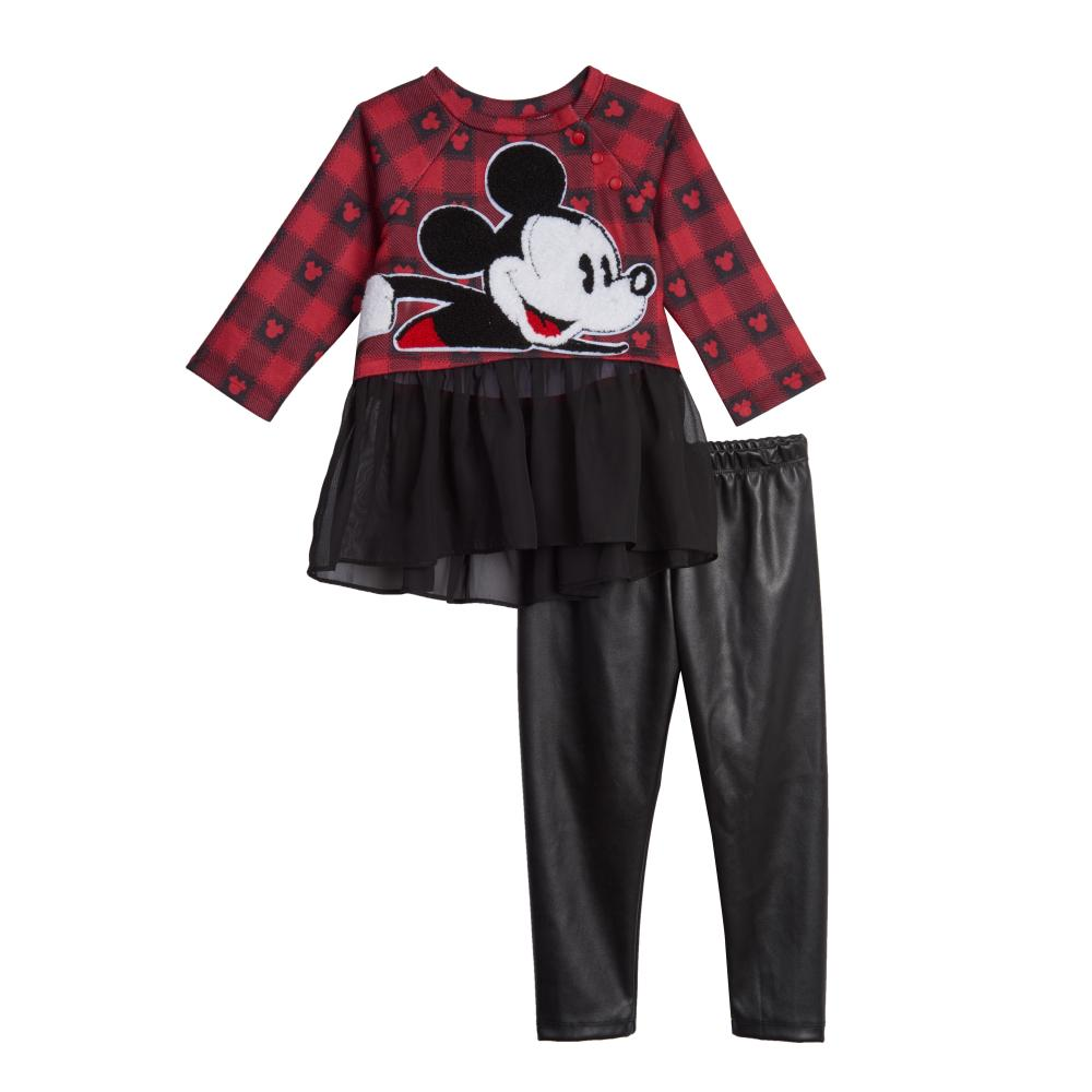 Dress - Disney X Pippa & Julie Mickey Plaid Tutu Set