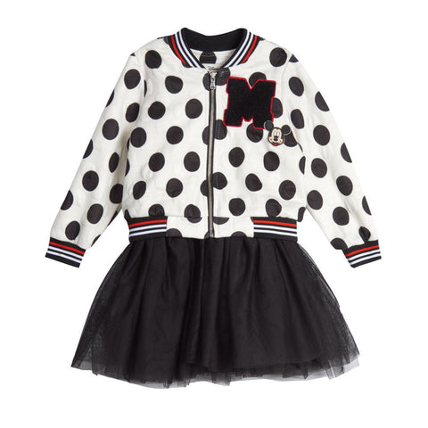 Disney X Pippa & Julie Mickey Polka Dot Bomber Set