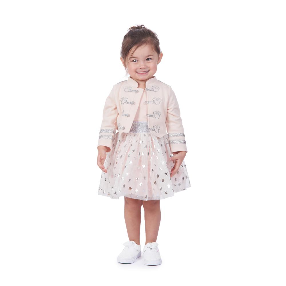 Dress - Disney X Pippa & Julie Minnie Pink Majorette Jacket Dress Set