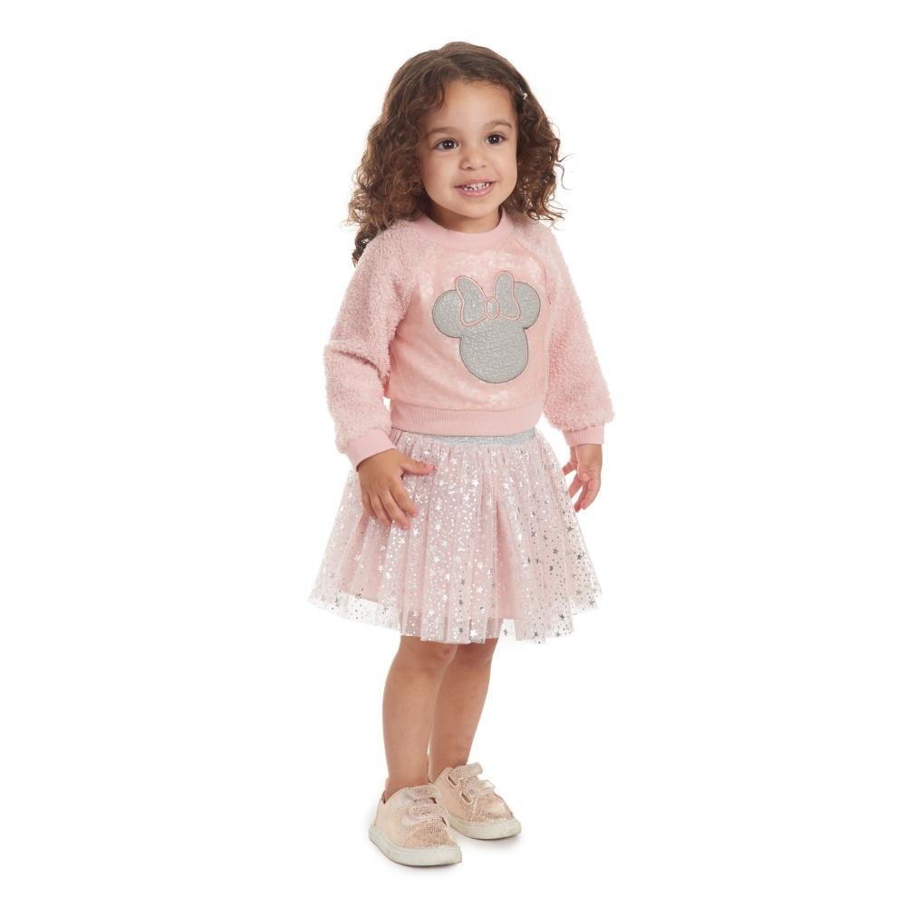 Dress - Disney X Pippa & Julie Minnie Pink Sequin Dress