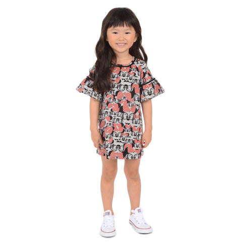 Disney X Pippa & Julie Minnie Print Dress