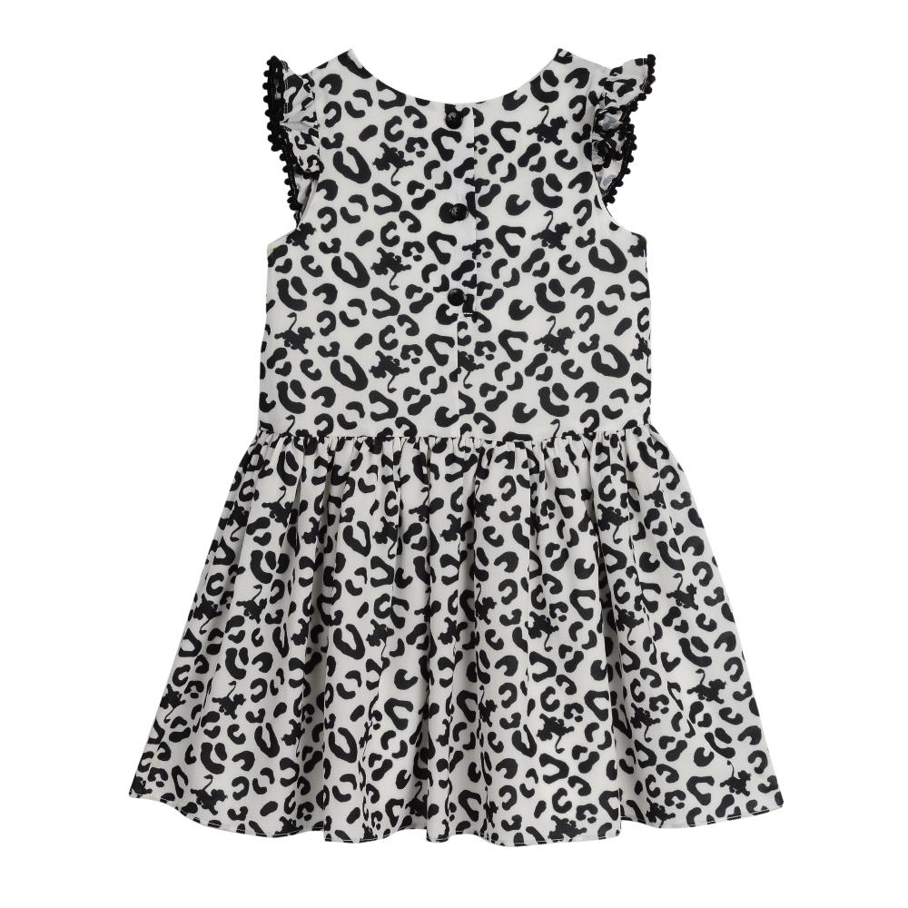 Dress - Disney X Pippa & Julie Simba Print Pom Pom Dress
