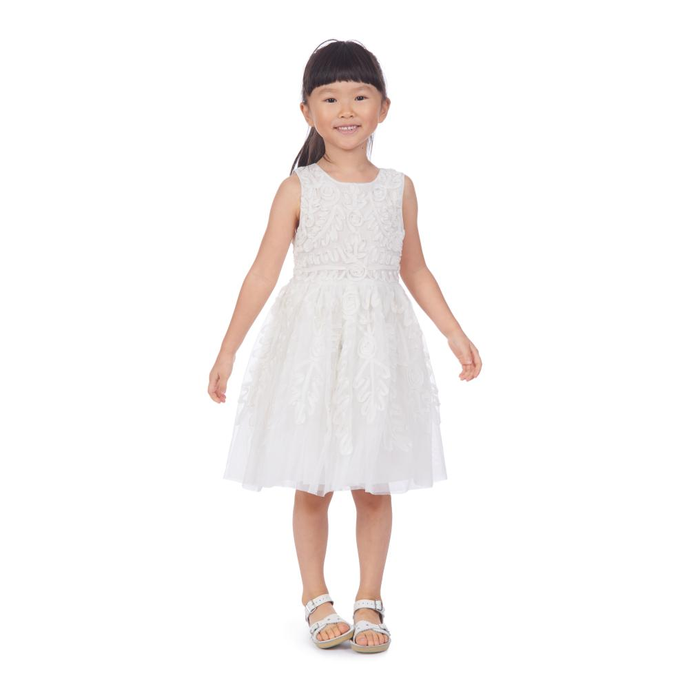 Dress - Evelyn White Social Dress