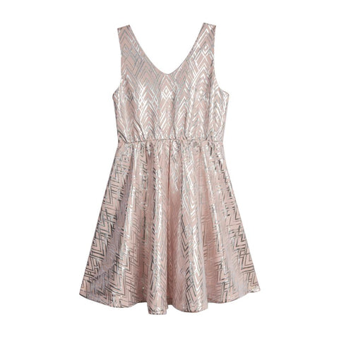 Hope Blush Skater Dress