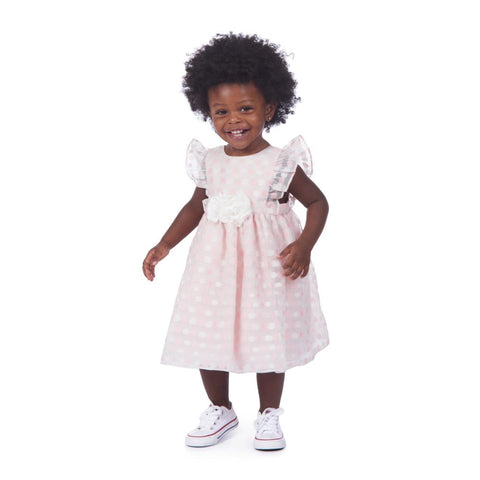 Joy Pink Dot Dress