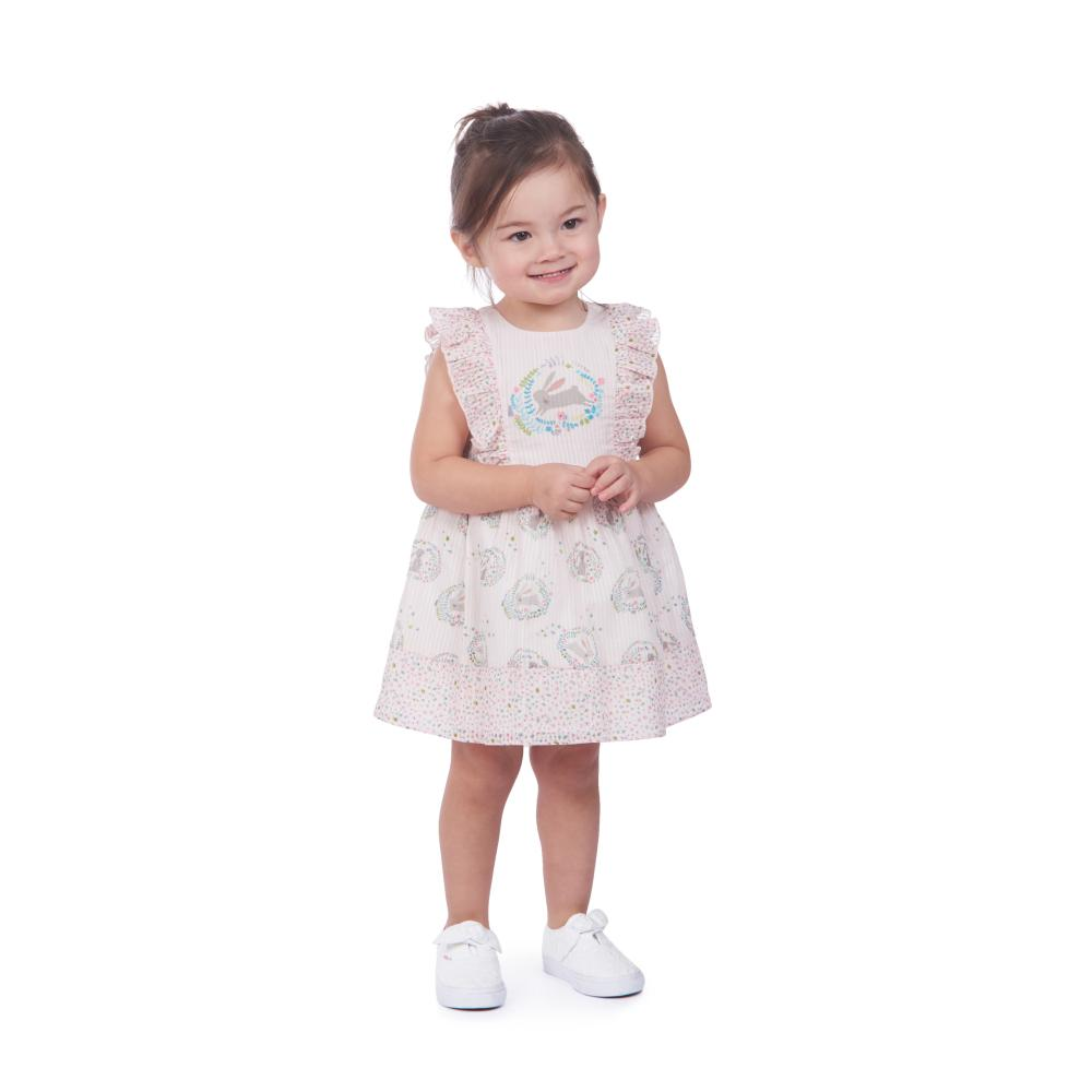 Dress - Joy Ruffle Bunnies Dress