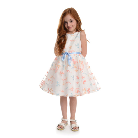 Lainey Blue Floral Dress
